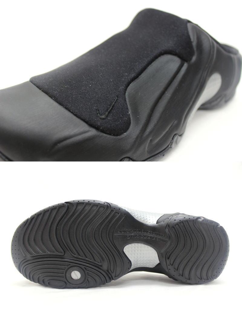 a09127fbc443 NIKE SOLO SLIDE Black   Silver 644585-001 Nike solos ride form posit sandals