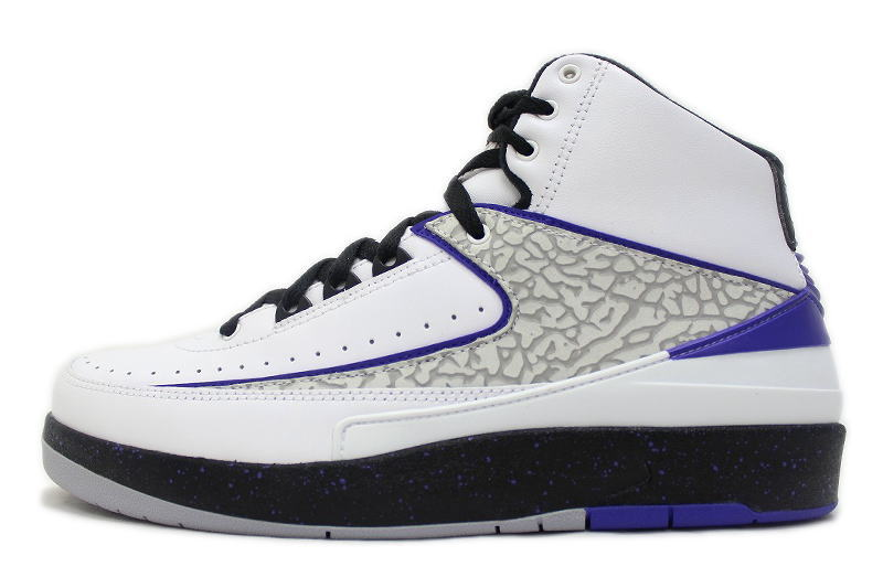 32ce9e64c5b 2 385,475-153 NIKE AIR JORDAN RETRO white X purple X cement nike Air Jordan  ...