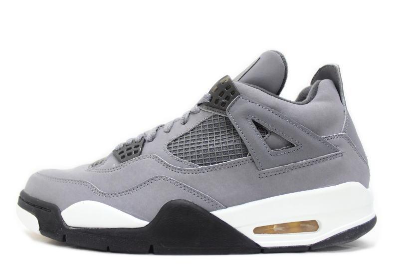 new styles 4228a 7f485 NIKE AIR JORDAN 4 RETRO COOL GREY 308,497-001 Nike Air Jordan 4 nostalgic  cool gray