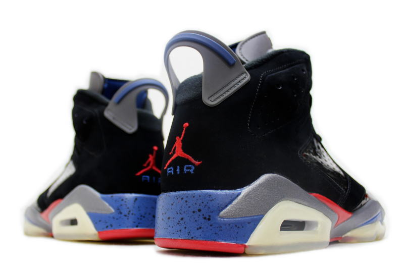 brand new 1c1d3 6c31a NIKE AIR JORDAN 6 RETRO PISTONS 384664-001 Nike Air Jordan 6 retro Detroit  Pistons