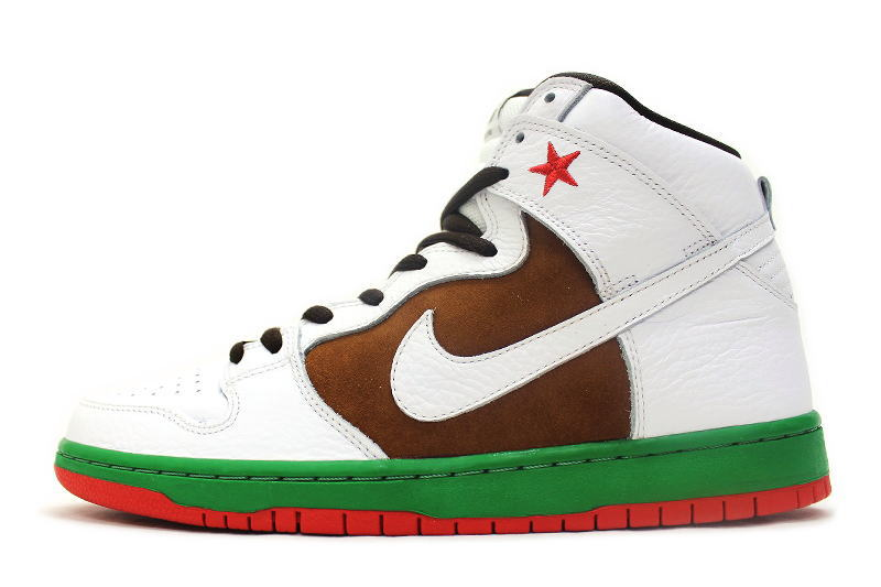 buy popular 59e2c b766d 313,171-201 NIKE DUNK HIGH PREMIUM SB CALIFORNIA nike dunk high premium SB  California 31st STATE