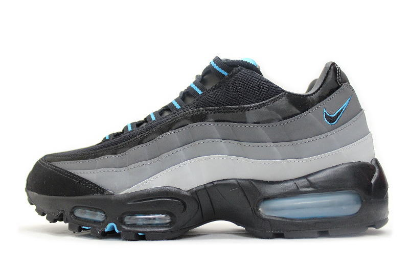 separation shoes b600d e1431 NIKE AIR MAX 95 SI JD another sports note Black x ash x turquoise  329393-022 Nike Air Max 95 overseas limited