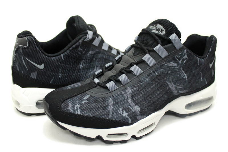 NIKE AIR MAX 95 PRM TAPE tolling 599425 010 Nike Air Max 95 premium tape Camo black