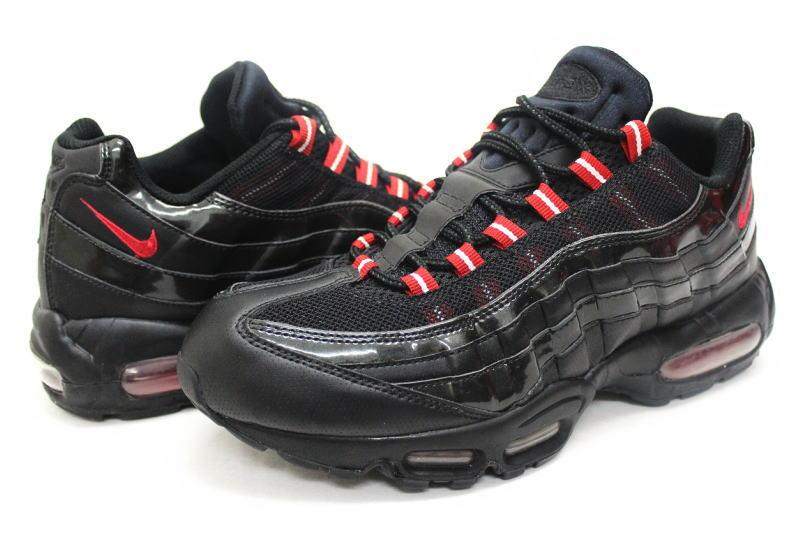 NIKE AIR MAX 95 black 609,048 001 Kie Ney AMAX 95 black leather