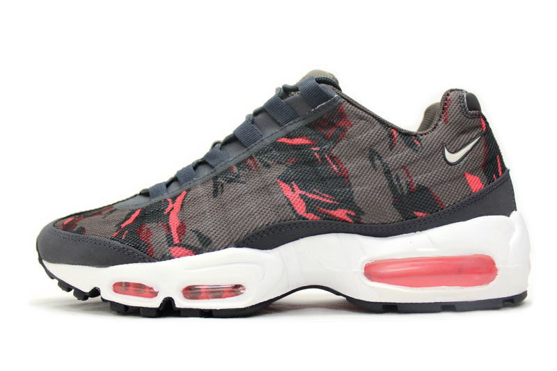 NIKE AIR MAX 95 PRM TAPE Brown camouflage 59425-260, Nike Air Max 95 premium tape Camo