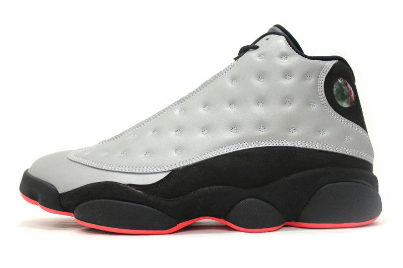 d0166c9bafc NIKE AIR JORDAN 13 RETRO PRM REFLECT SILVER 696298-023 Nike Air Jordan 13  retro premium reflector Silver 3 m