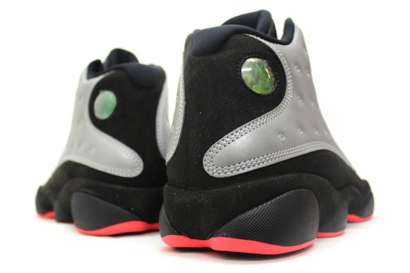 buy online a9200 fee4e NIKE AIR JORDAN 13 RETRO PRM REFLECT SILVER 696298-023 Nike Air Jordan 13  retro premium reflector Silver 3 m