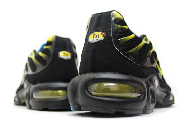 NIKE AIR MAX PLUS limited black X yellow 604,133 074 Kie Ney AMAX plus in Europe