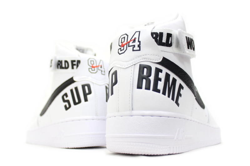 info for c7d3e 078f8 ... NIKE AIR FORCE 1 HIGH SUPREME SP white 698696-100 Nike air force one  high ...