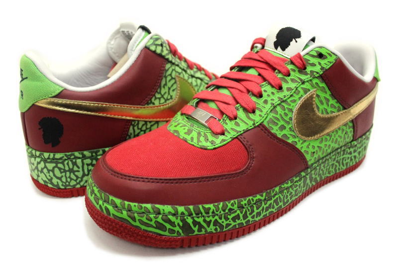 0e05a97e ... NIKE AIR FORCE 1 LOW SUPREME I O QUESTLOVE 318931-671 Nike air force  one low ...