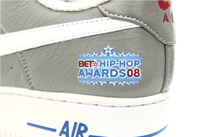 NIKE AIR FORCE 1 PREMIUM PROMO LE B E T... Hip Hop Awards H008URBAN546 Nike air force one premium promo ash white