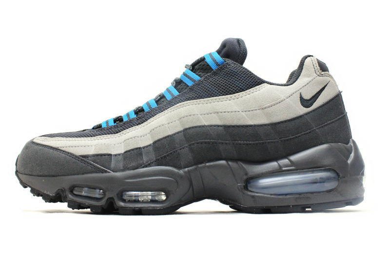 NIKE AIR MAX 95 grey   blue 609048-052 Nike Air Max 95 gray blue overseas  limited 9ceac2eec218