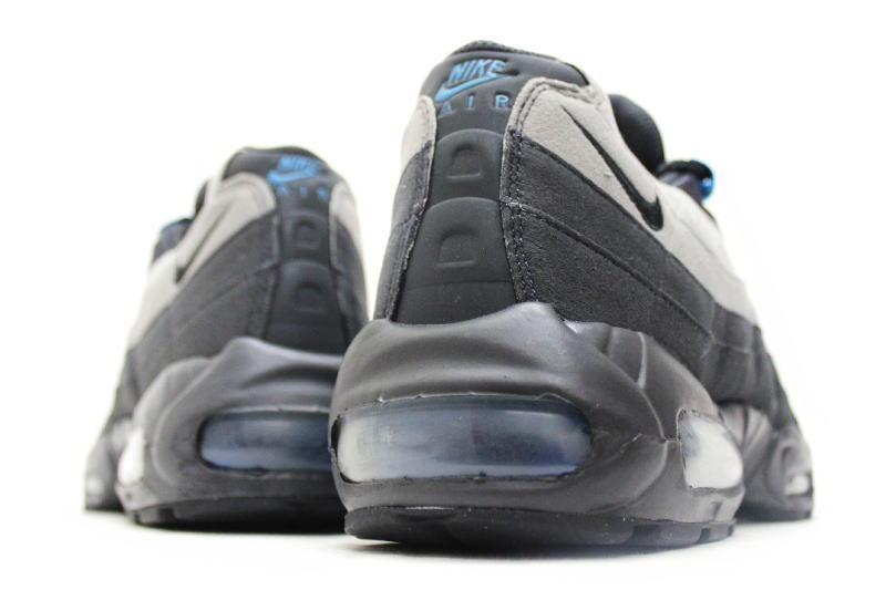 9113a6902f3 NIKE AIR MAX 95 grey   blue 609048-052 Nike Air Max 95 gray blue overseas  limited
