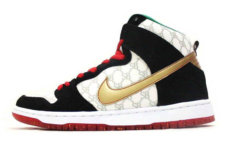 low priced 5d338 60357 NIKE DUNK HIGH PREMIUM SB BLACK SHEEP 313171-170 Nike Dunk high premium SB  black sheep