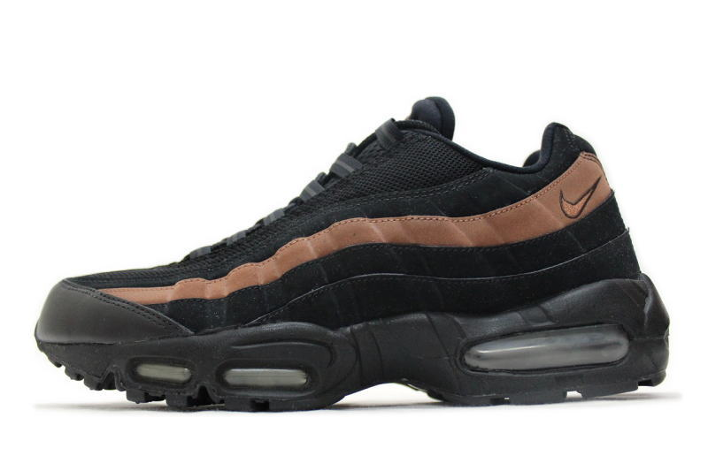 quality design 3a449 acdad NIKE AIR MAX 95 Black   Brown nubuck 609048-021 Nike Air Max 95 overseas  limited