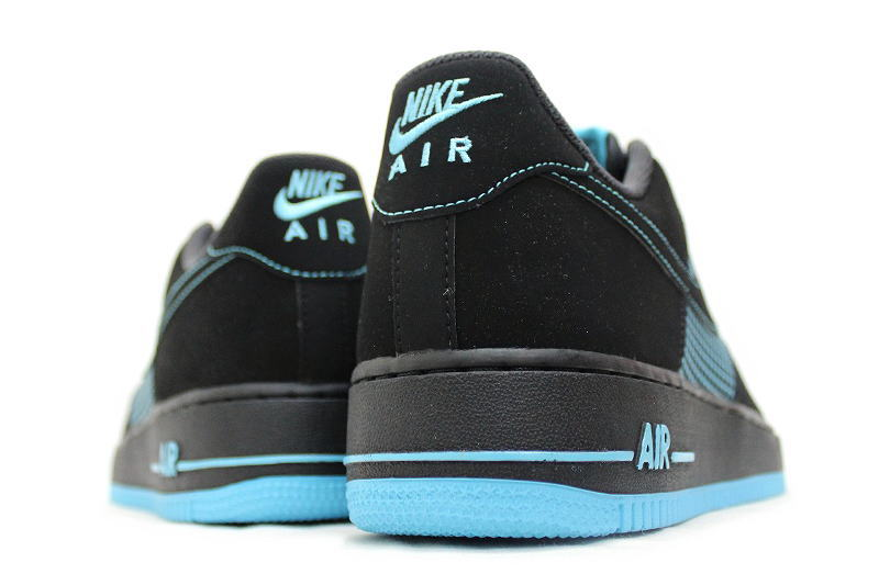 online retailer c614c 6daec NIKE AIR FORCE 1 black x gamma blue 488298-073 BLUE Nike air force one GAMMA