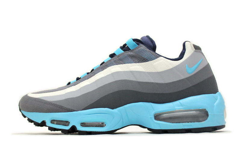 reputable site 103b4 f85f8 NIKE AIR MAX 95 NO SEW gray x blue 616190-040 Nike Air Max 95 now saw  overseas limited