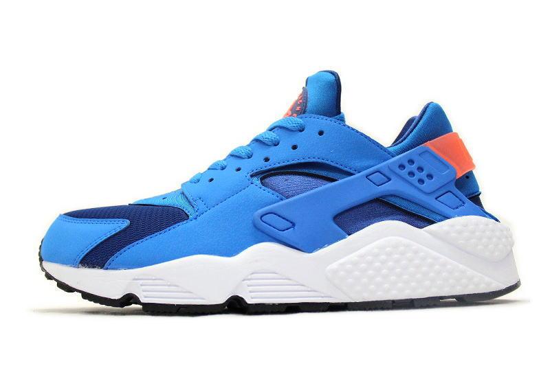 743822d49e14 auc-soleaddict  NIKE AIR HUARACHE GYM BLUE 318429-402 Nike Air ...