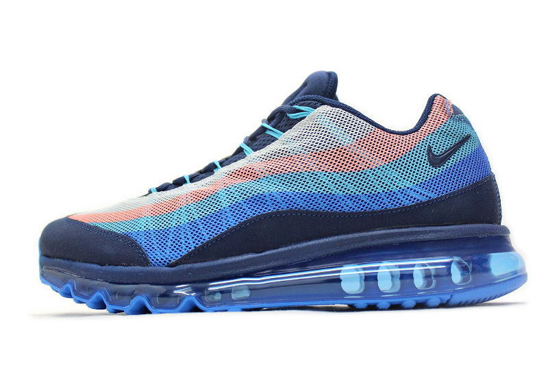 wholesale dealer 83d2f 3bc39 NIKE AIR MAX 95-2013 DYN FW gamma blue x pink 599300-446 Nike Air Max 95  dynamic flywire GAMMA BLUE overseas limited