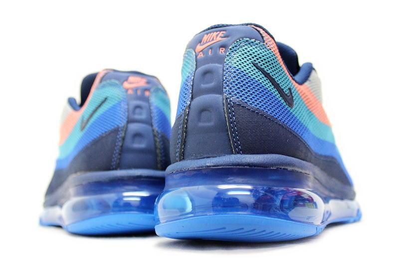 480590c01e85 NIKE AIR MAX 95-2013 DYN FW gamma blue x pink 599300-446 Nike Air Max 95  dynamic flywire GAMMA BLUE overseas limited