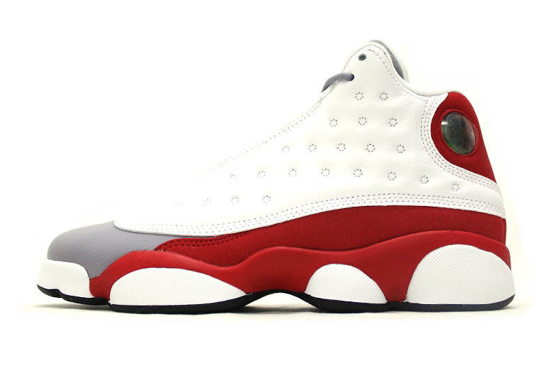 fe7ba752888b NIKE AIR JORDAN 13 RETRO BG GREY TOE 414574-126 Nike Air Jordan 13 retro  low graito GS