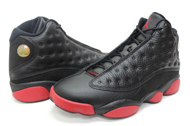 low priced a3cee 9982d NIKE AIR JORDAN 13 RETRO BLACK GYM RED 414571-003 Jim Redd BRED 2014 bled  black, Nike Air Jordan 13 retro black   red