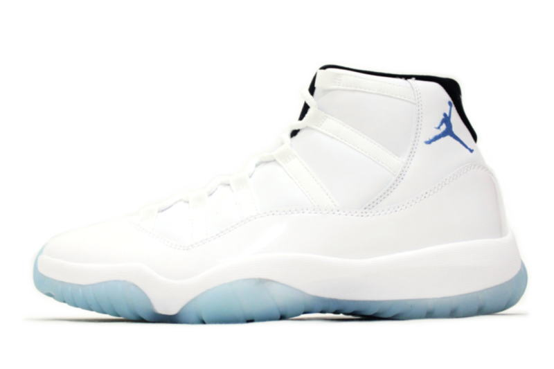 09d1fb7c769647 ... hot nike air jordan 11 retro legend blue 378037 117 nike air jordan 11  retro legends