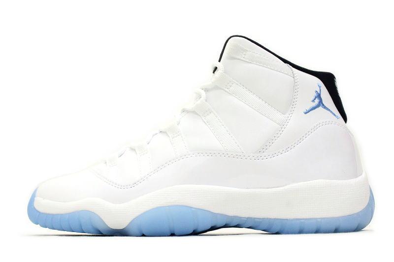 NIKE AIR JORDAN 11 RETRO BG LEGEND BLUE 378038-117 Nike Air Jordan 11 retro legends blue Colombia COLUMBIA White x North GS