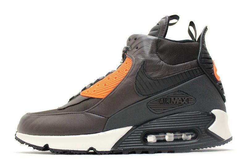 sale retailer fd0e4 fc7a4 NIKE AIR MAX 90 SNEAKERBOOT WNTR BROWN 684714-200 Nike Air Max 90 sneaker  boots Brown
