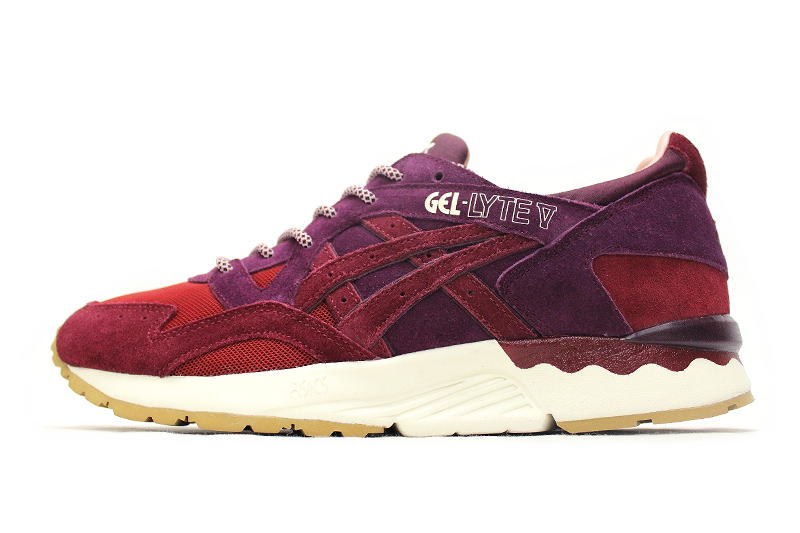 asics dried rose release
