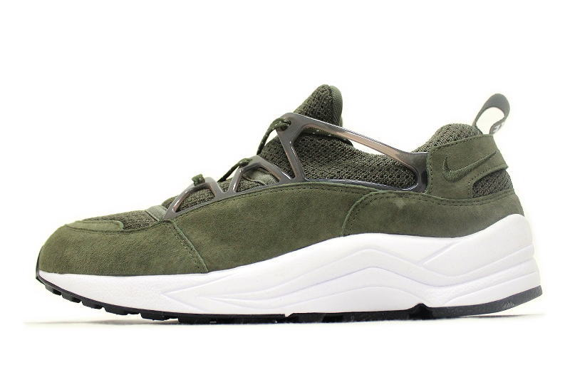 pick up 49099 f7079 NIKE AIR HUARACHE LIGHT PRM SIZE EXCLUSIVE OLIVE 708831-221 Nike Air  harach light premium size Another note olive