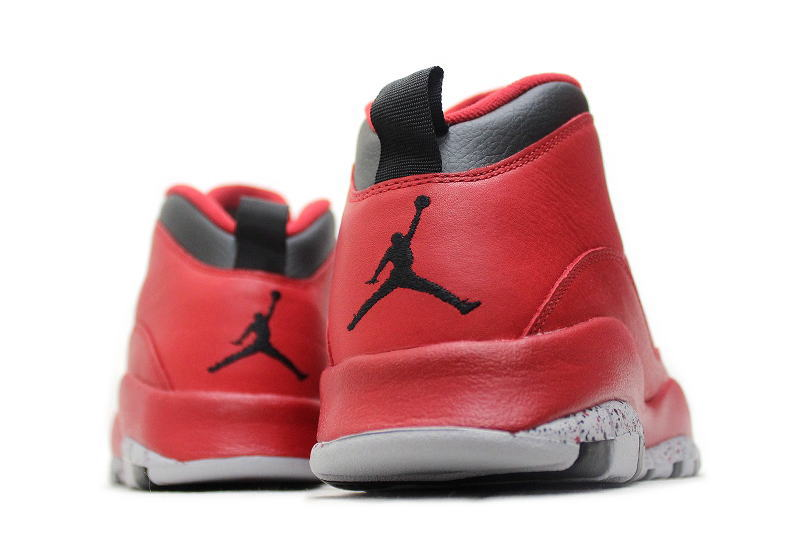 NIKE AIR JORDAN 10 RETRO 30TH BULLS OVER BROADWAY GYM RED 705178-601 Nike  Air Jordan 10 retro Jim Redd