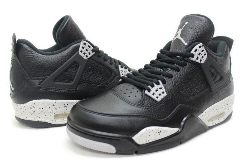 NIKE AIR JORDAN 4 RETRO LS OREO 314254-003 Nike Air Jordan 4 retro Oreo
