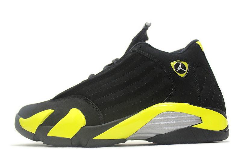 half off 8cac3 b22a4 NIKE AIR JORDAN 14 RETRO THUNDER 487471-070 Nike Air Jordan 14 retro Thunder