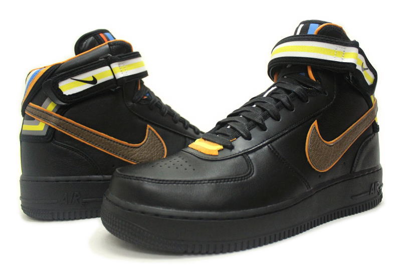 check out 20943 276ef NIKE AIR FORCE 1 MID SP  TISCI black GIVENCHY RICCARDO TISCI 677803-020 Nike  air force one mid Givenchy in 2000s Ricardo such