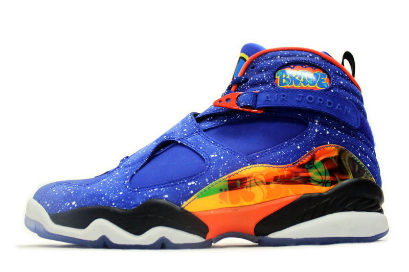 8fdc6442ce37 NIKE AIR JORDAN 8 RETRO DB DOERNBECHER 729893-480 Nike Air Jordan 8 retro  dorenbecker