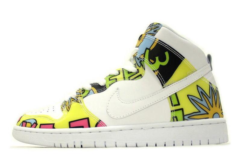 premium selection c91c5 fed29 NIKE DUNK HIGH PRM DLS SB QS DE LA SOUL 748751-177 Nike Dunk Hi premium SB  de la soul