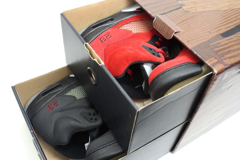 7729eb7d17c ... NIKE AIR JORDAN 5 RETRO DMP bipedal set 360968-991 Nike Jordan retro 5  RAGING