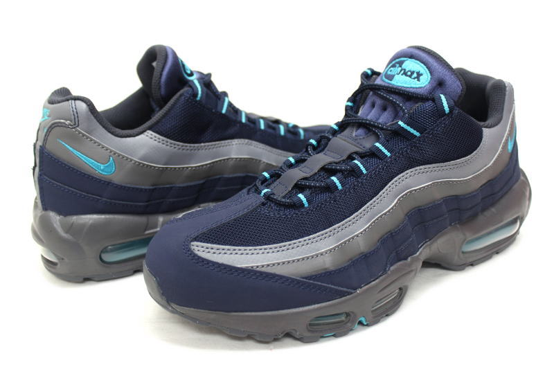 best authentic 091d7 a869e NIKE AIR MAX 95 SI JD EXCLUSIVE NAVY GREY 329393-430 Nike Air Max 95 JD  another sports note blue x gray