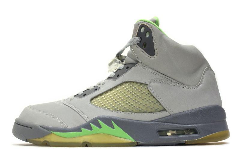 huge discount 8e150 361ee NIKE AIR JORDAN 5 RETRO GREEN BEAN 136027-031 Nike Air Jordan 5 retro green  bean