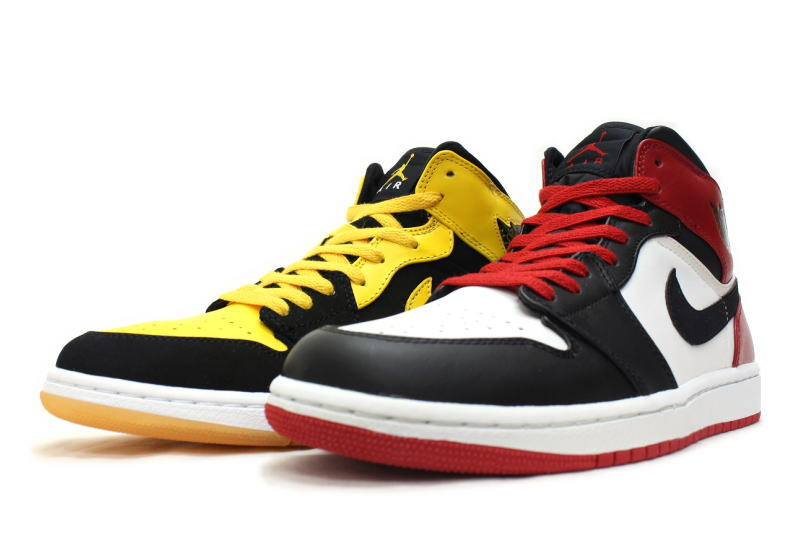 97ab1f567beb45 NIKE JORDAN OLD LOVE NEW LOVE BMP PACK two-legged set 316132-991 Nike Air  Jordan 1 retro old love new love beginning moments Pack stumbled black  yellow ...