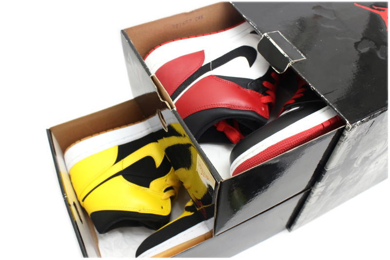 innovative design 5023a ceff0 NIKE JORDAN OLD LOVE NEW LOVE BMP PACK two-legged set 316132-991 Nike Air  Jordan 1 retro old love new love beginning moments Pack stumbled black  yellow ...