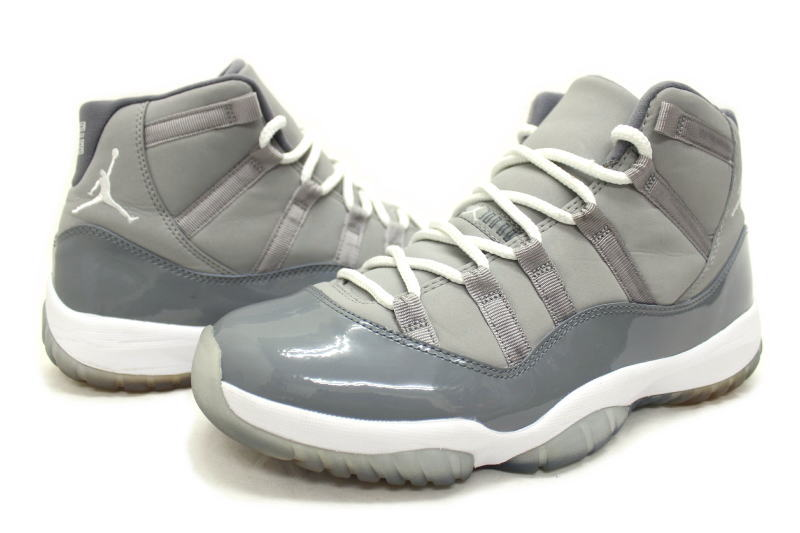 1ad9a9d8cd6c NIKE AIR JORDAN 11 RETRO COOL GREY 378037-001 Nike Air Jordan 11 retro cool  grey gray x White