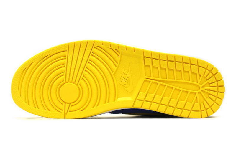 5a0c2a5af09e NIKE AIR JORDAN 1 RETRO HIGH OG LANEY 555088-707 Nike Air Jordan 1 retro Hi  Laney yellow x blue