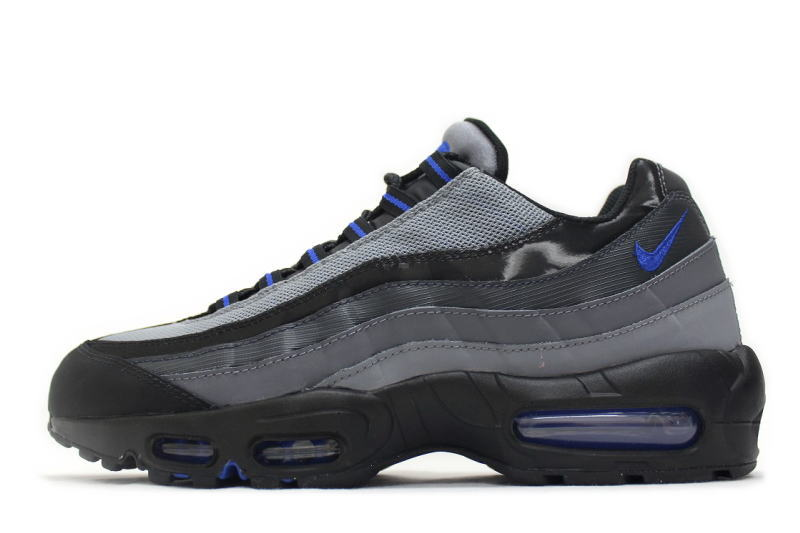 NIKE AIR MAX 95 SI JD EXCLUSIVE BLACK GREY 329,393 095 Kie Ney AMAX 95 JD sports comment black X is gray