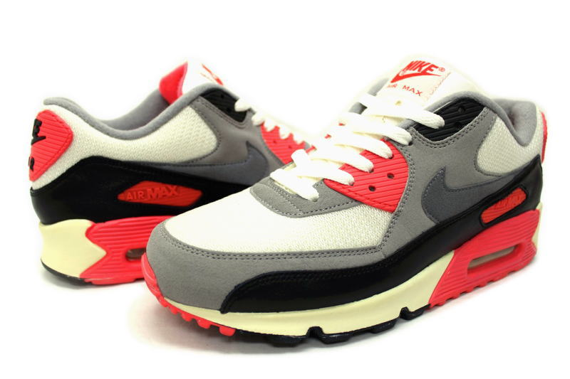 NIKE AIR MAX 90 OG INFRARED 543361 161 Nike Air Max 90 original infra red vintage processing