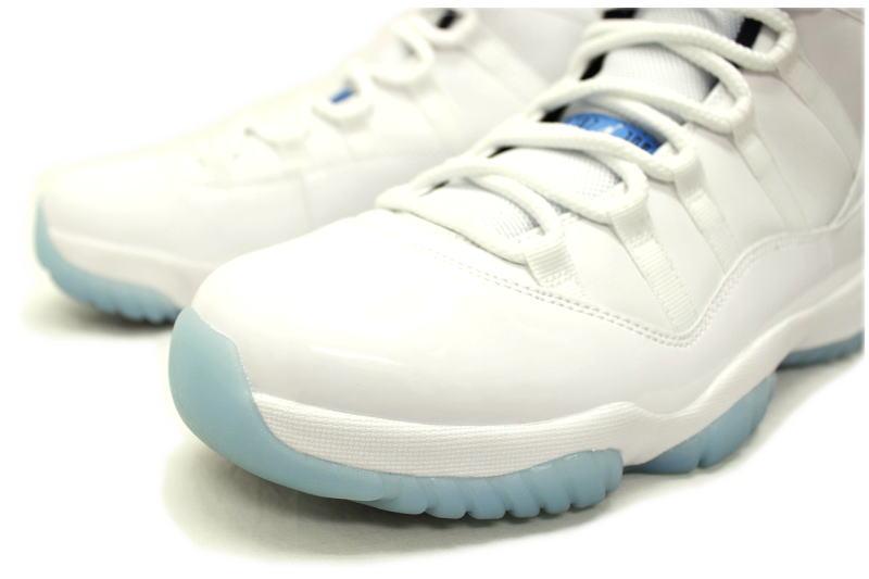 on sale 938a5 5048b NIKE AIR JORDAN 11 RETRO LEGEND BLUE 378037-117 Nike Air Jordan 11 retro  blue legend Colombia COLUMBIA White x North