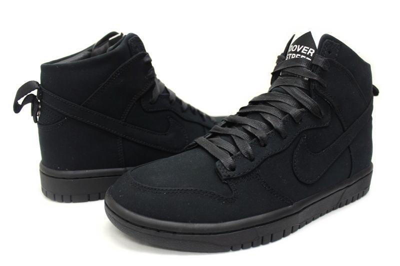20d4a1d8b NIKE DUNK LUX SP   DSM BLACK 718766-001 black Nike Dunk Dover Street market