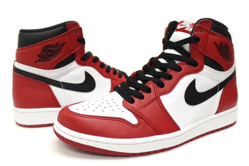 NIKE AIR JORDAN 1 RETRO HIGH OG CHICAGO 555088-101 Nike Air Jordan 1 retro  high Chicago 6cb89c2d1