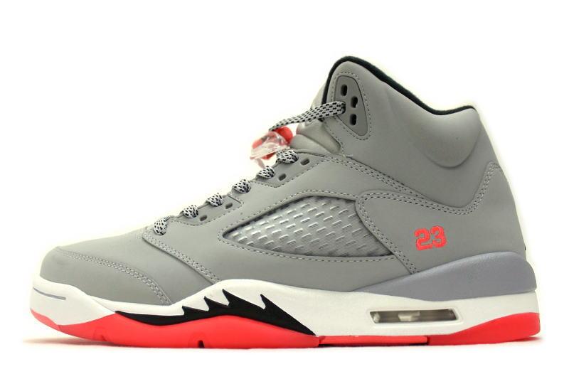 c3e63979010 NIKE AIR JORDAN 5 RETRO GG HOT LAVA 440892-018 Nike Air Jordan 5 retro ...
